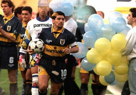 Diego y su amor por Boca