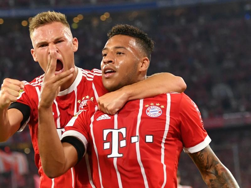 Bayern Munich 3 Bayer Leverkusen 1: Debutants Sule and Tolisso net in rain-lashed Bundesliga opener