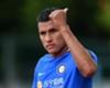 Valencia's new defender Jeison Murillo in training for Inter