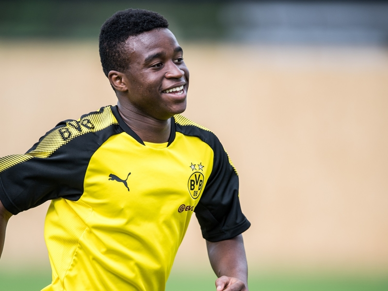 Meet Youssoufa Moukoko, the 12-year-old wonderkid taking Borussia Dortmund by storm