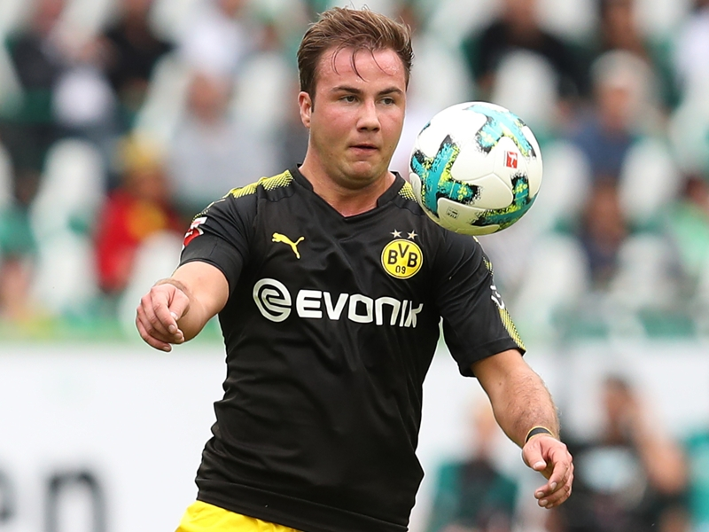Dortmund boss Bosz lauds 'special' Gotze after star's return to action