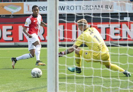 Feyenoord nipt te sterk voor Excelsior