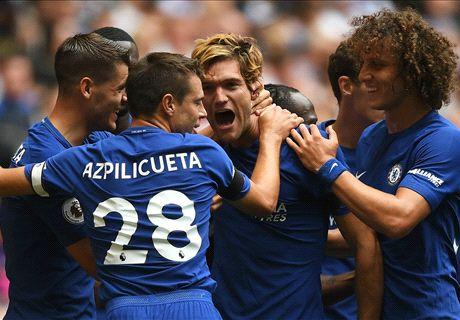 Chelsea tart statistieken met zege op Spurs