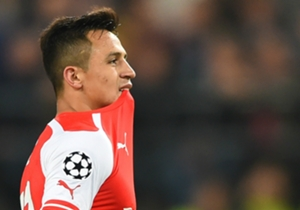 Alexis Sanchez cut a frustrated figure in Brussels