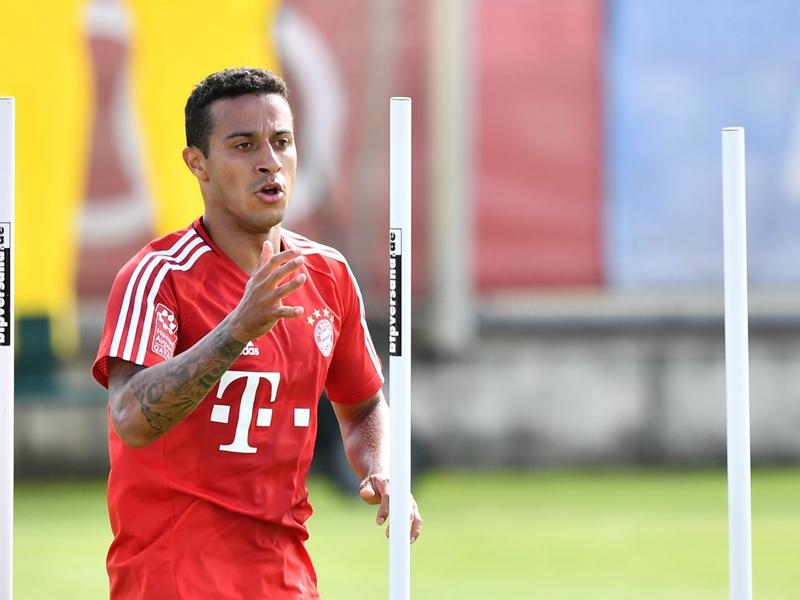 Thiago and Martinez return to full Bayern Munich training
