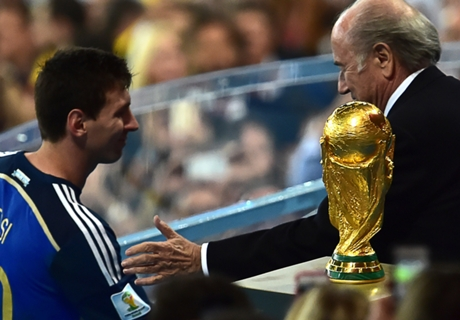 Blatter: Messi didn't deserve Golden Ball