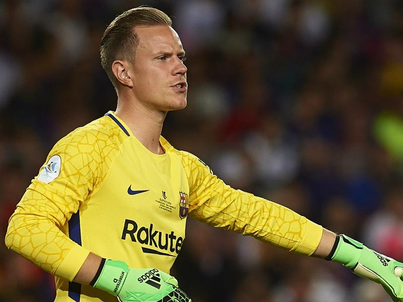 "Barça, Ter Stegen ""le meilleur gardien du monde"""