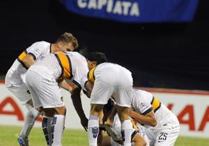 Boca viene de vencer a Deportivo Capiatá por penales.