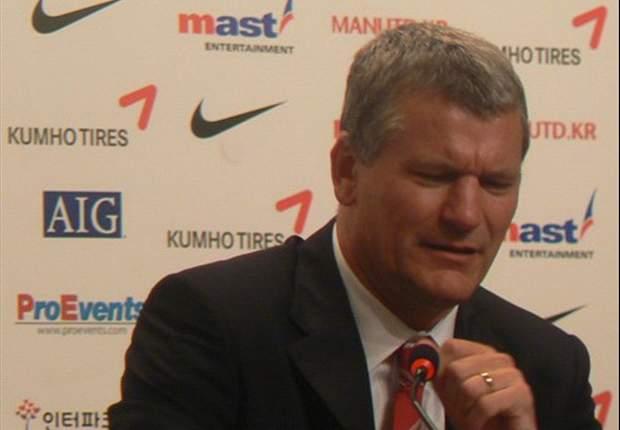 Manchester United chief executive David Gill: Sir Alex Ferguson has money to spend