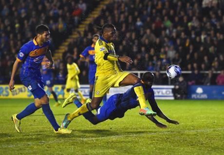 Copa da Liga: Shrewsbury 1 x 2 Chelsea
