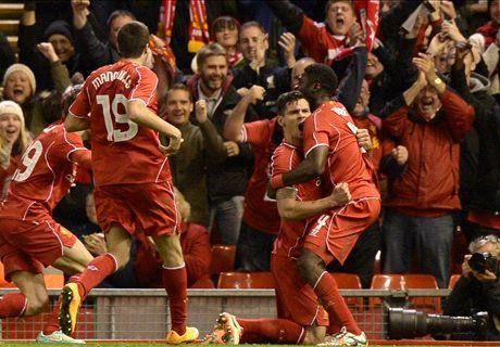 Balotelli goal nel Liverpool: