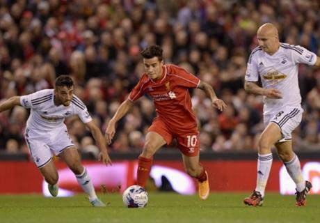 Liverpool 2-1 Swansea: Balotelli, Lovren late