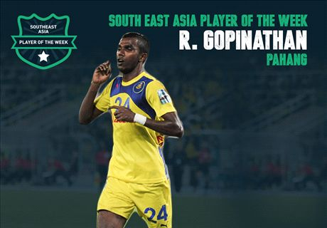 SEA Player of the Week: R. Gopinathan