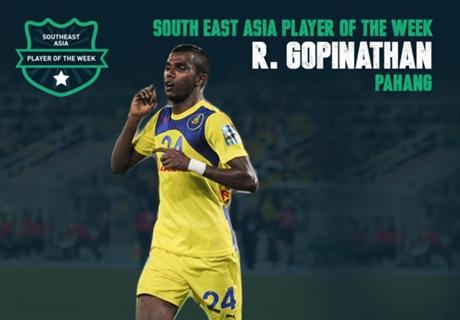 Terbaik Asia Tenggara Pekan Ini: R. Gopinathan