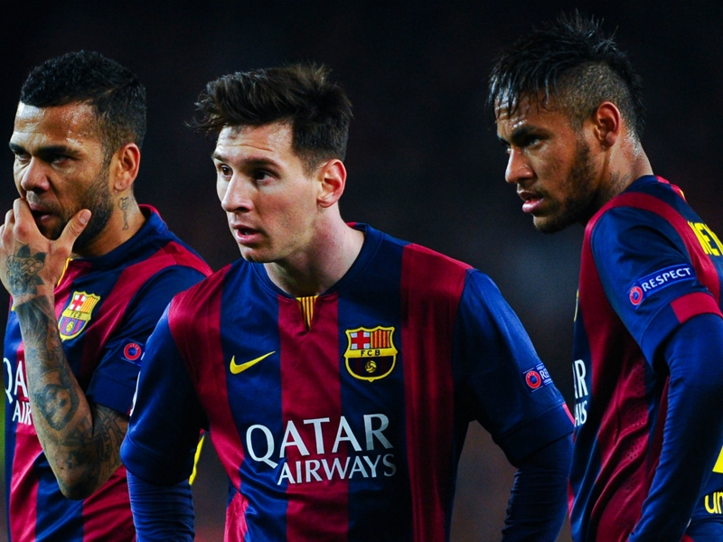 Dani Alves: Ronaldo the toughest to face but Messi & Neymar superior