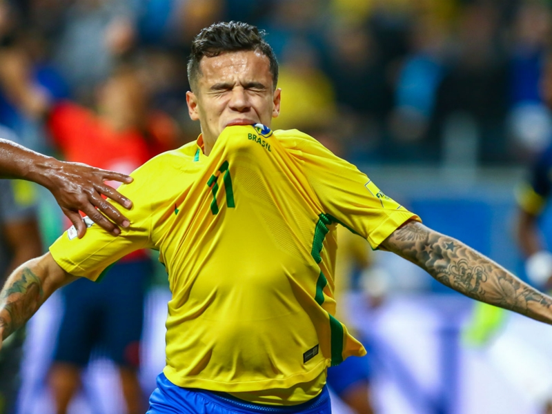 Coutinho fit to play 90 minutes, says Tite