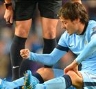 Manchester City sweating on Silva scan