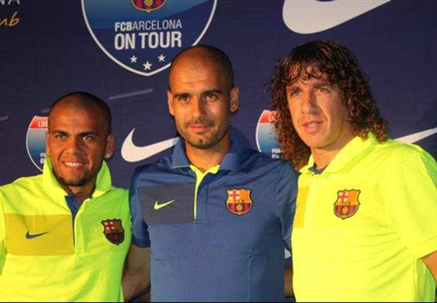 Puyol, Alves And Guardiola Set For Galaxy Clash