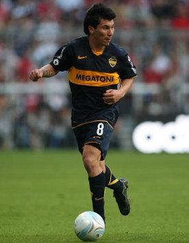 Gary medel, Boca Juniors (FIRO)