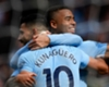 Manchester City duo Sergio Aguero and Gabriel Jesus