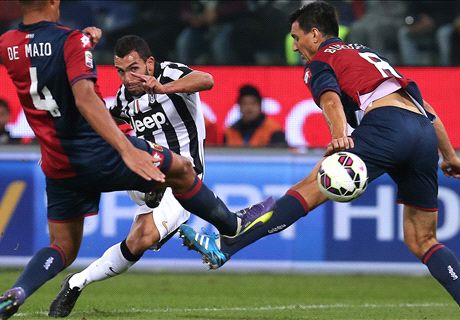 Juve's unbeaten run ended by Genoa