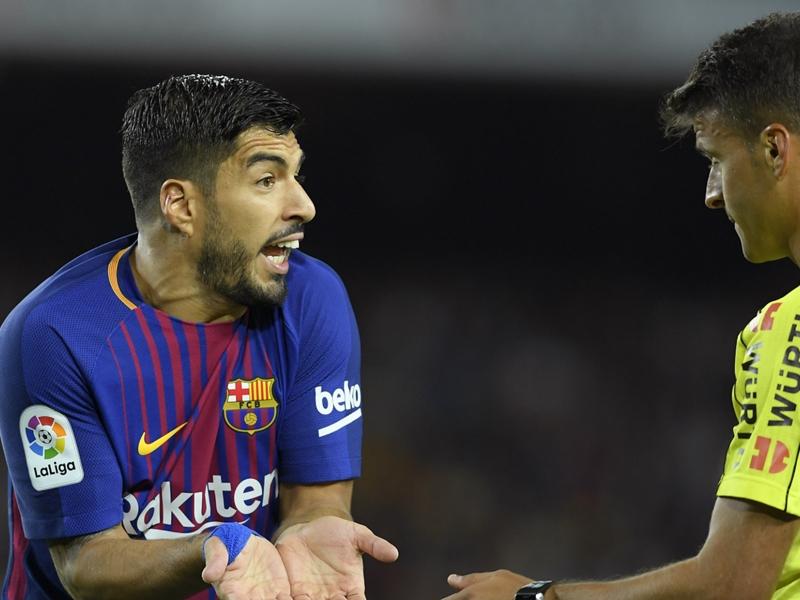 Suarez still searching for sharpness despite Barca romp