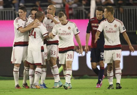 Bonaventura earns point for Milan