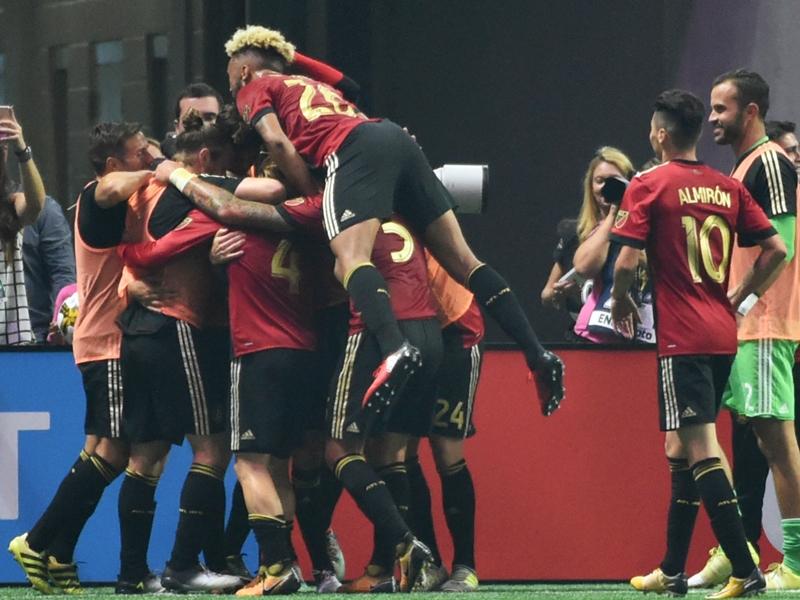 WATCH: Gonzalez Pirez scores first goal for Atlanta United at Mercedes-Benz Stadium