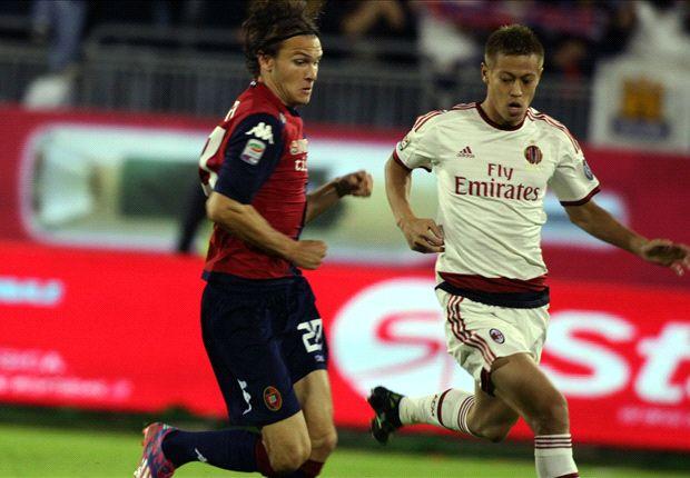 Cagliari 1-1 AC Milan: Bonaventura rescues point for Inzaghi's men