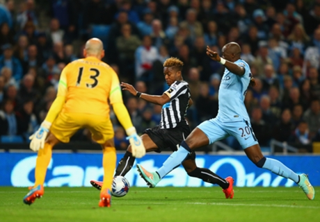 Man City 0-2 Newcastle: Holder out