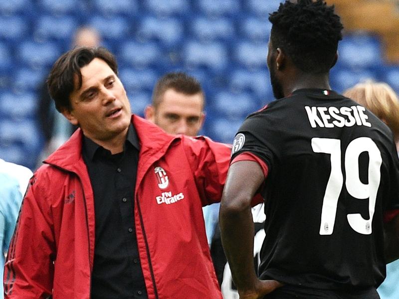 Montella aborde la tactique du Milan
