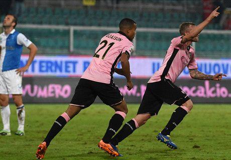 Pagelle Palermo-Chievo: Rigoni boom