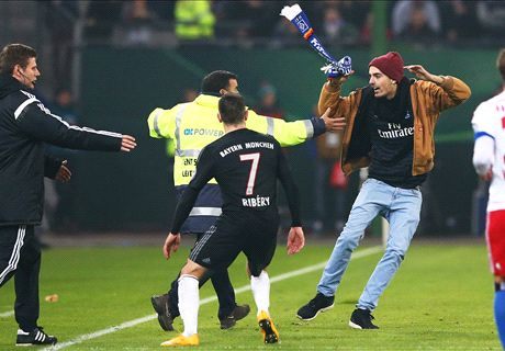 Ribery plays down scarf attack