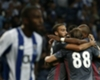 Besiktas celebration vs Porto 09132017