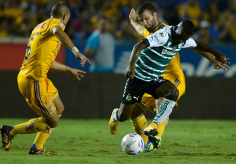 Copa Mx: Tigres 2-4 Santos