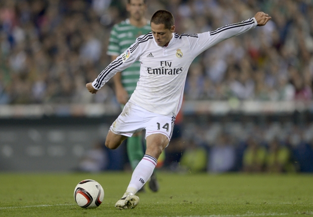 Javier Hernandez vows to prove himself at Real Madrid