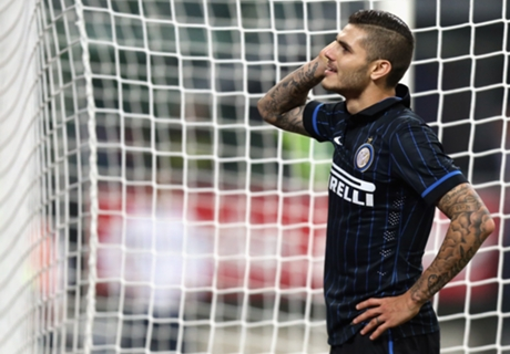 Icardi blasts Inter boo boys