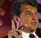 Laporta's Barca plans thrown into chaos