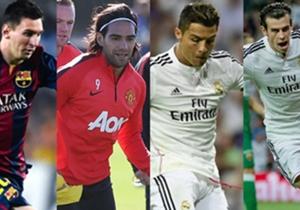 Ein weitere Statistik, in der die beiden besten Fußballer des Planeten um den Sieg kämpfen. Auch abgesehen von den beiden Superstars wird in der nachfolgenden Galerie deutlich, dass vor allem Spanien-Stars und Brasilianer, ob jung oder alt, zu den Favo...