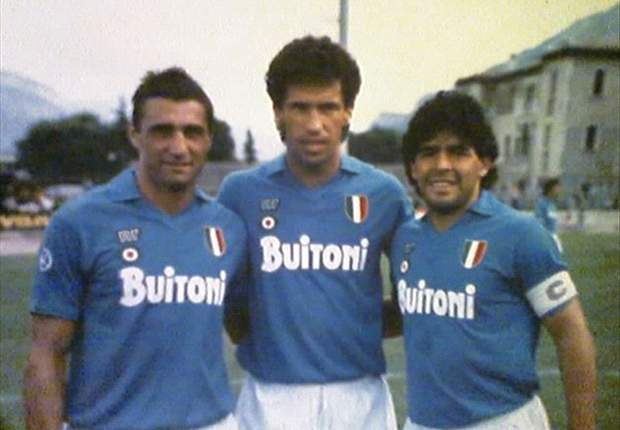 Napoli's Walter Mazzarri: I would have liked Diego Maradona & Careca in my team