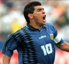 Grandes momentos en la vida de Maradona