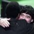 El abrazo entre el mejor de la historia y un gran futbolista brasileño