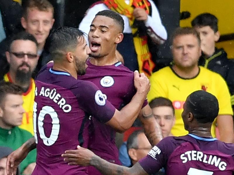Watford 0-6 Manchester City : le duo Jesus-Agüero fait encore des merveilles