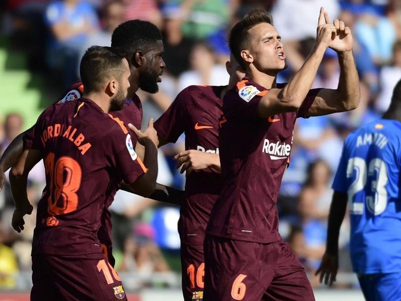 Getafe-Barça 1-2, le Barça s'impose sans briller