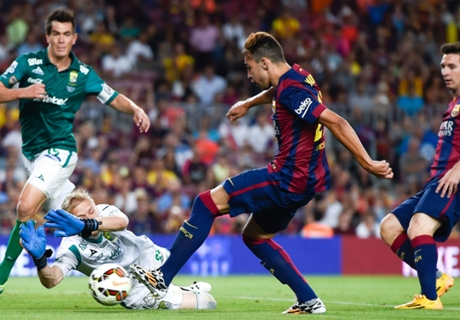 Everything is easier with Messi - Munir