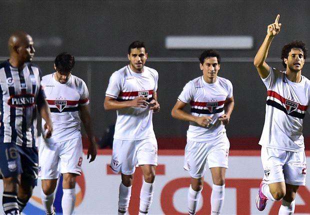 São Paulo 4 x 2 Emelec: mesmo com falhas no segundo tempo, Tricolor leva vantagem para o Equador na Sul-Americana