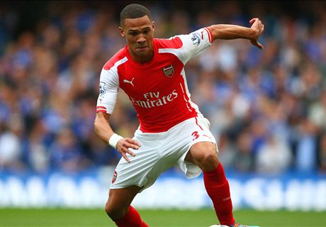 Gibbs an injury doubt for Arsenal