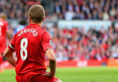 Mogelijk laatste seizoen Gerrard op Anfield