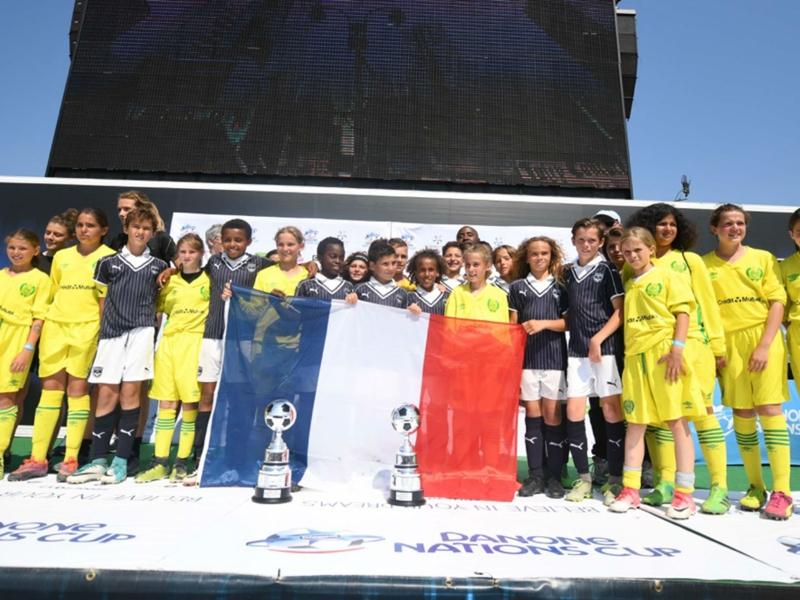 Danone Nations Cup 2017 : les jeunes de Nantes et Bordeaux en finale à New-York ce week-end