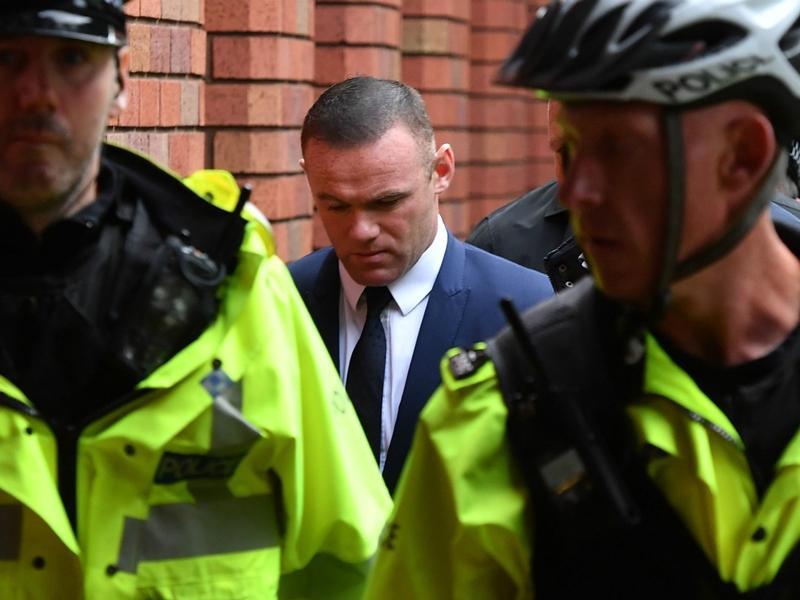 Everton aussi a sanctionné Rooney